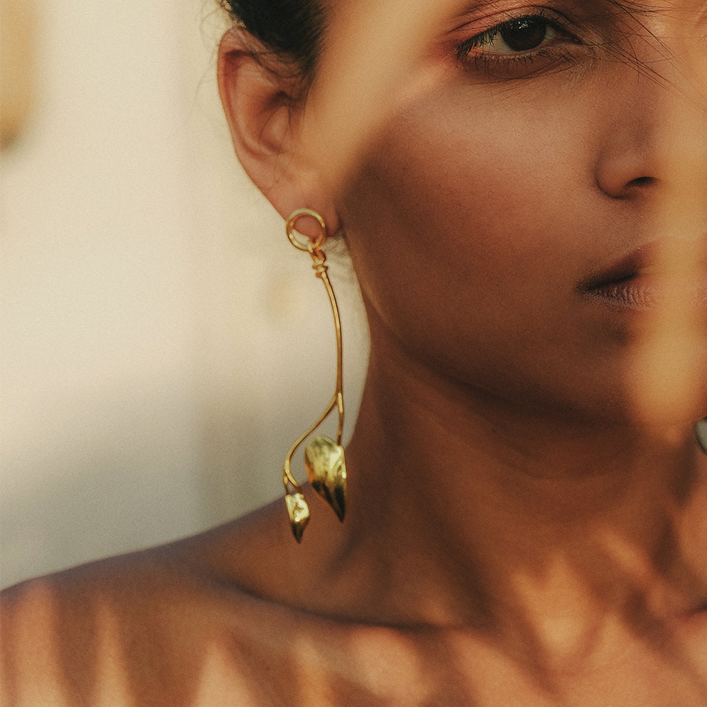 Elysium Earrings Gold