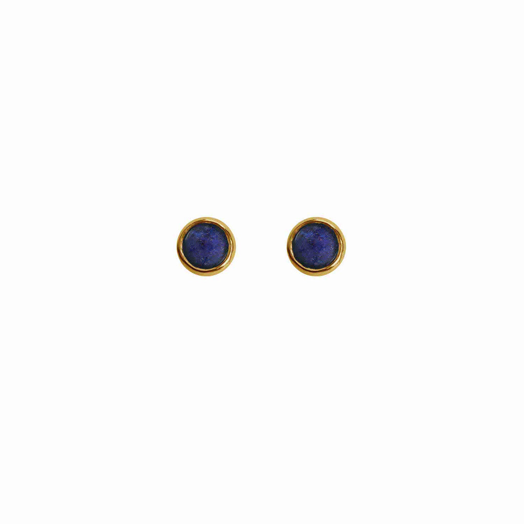 Astral Gem Studs Gold