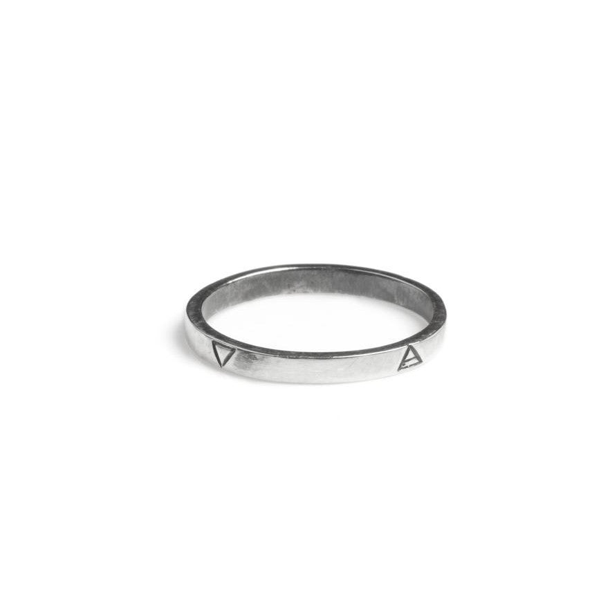 Four Elements Ring Silver