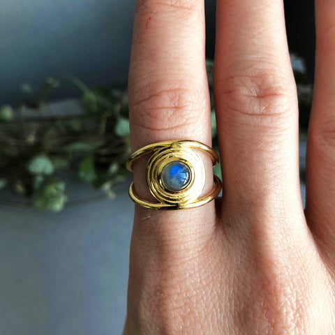 SALE - Cosmos Ring Gold
