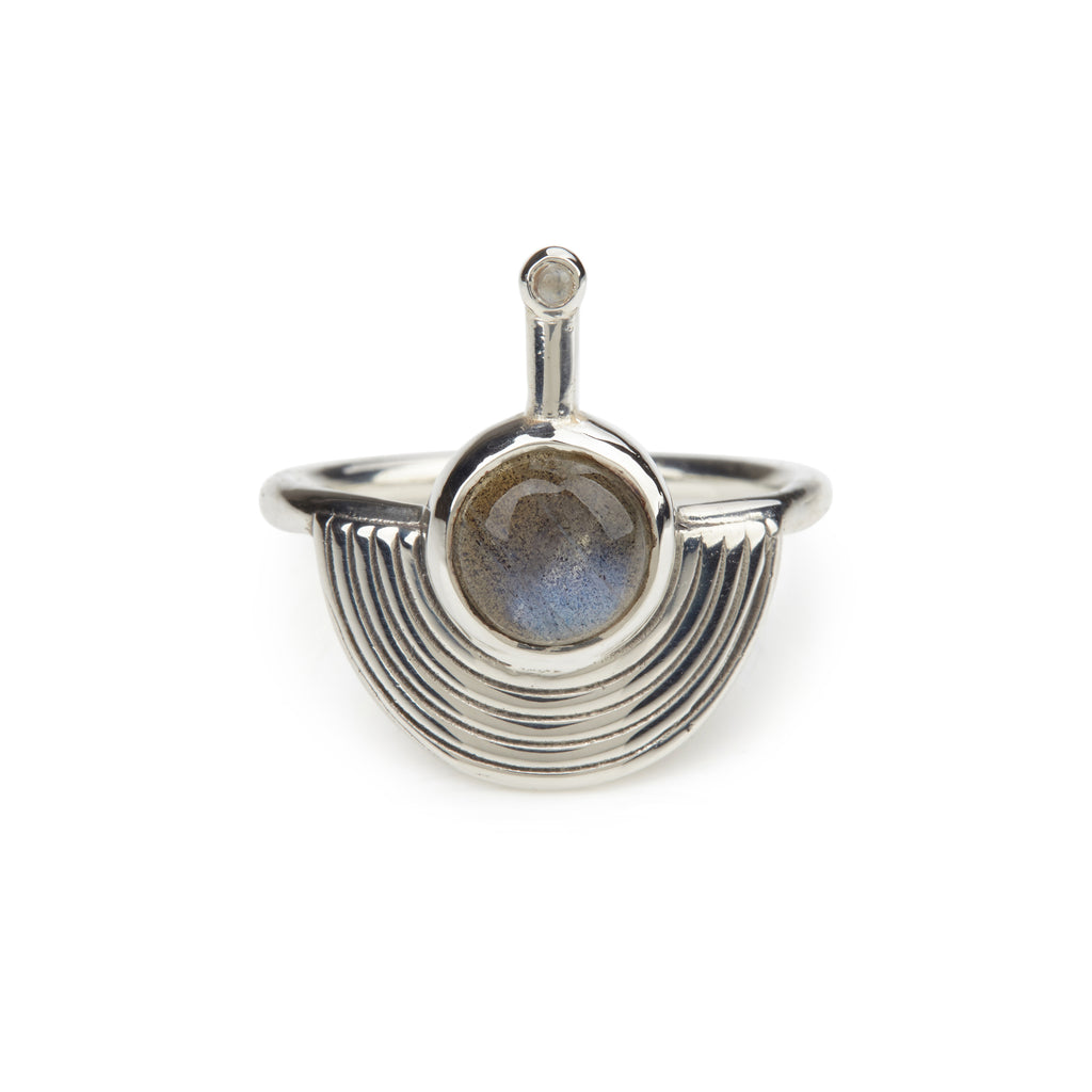 Interstellar Ring - Labradorite