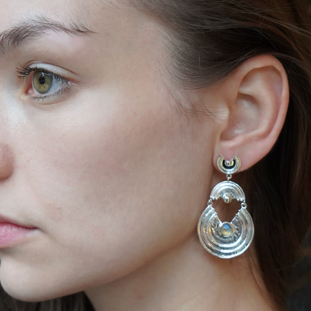 Interstellar Earrings Silver