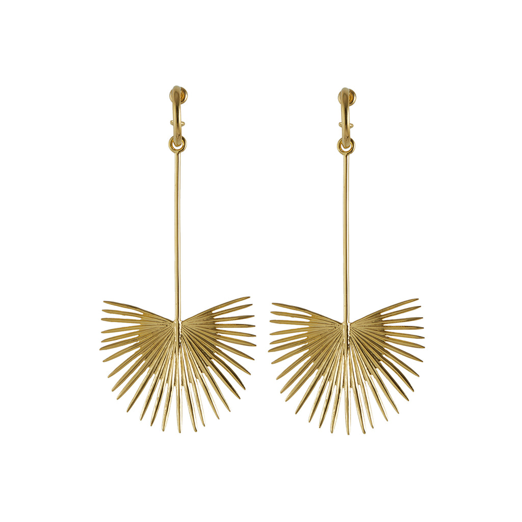 Ishtar Earrings Gold