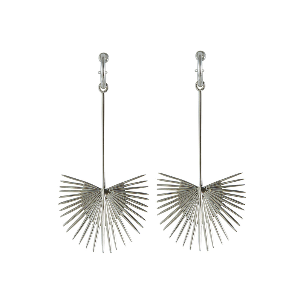 Ishtar Earrings Silver