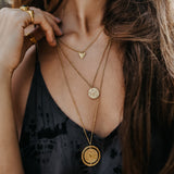 The Lunar Pendant Gold