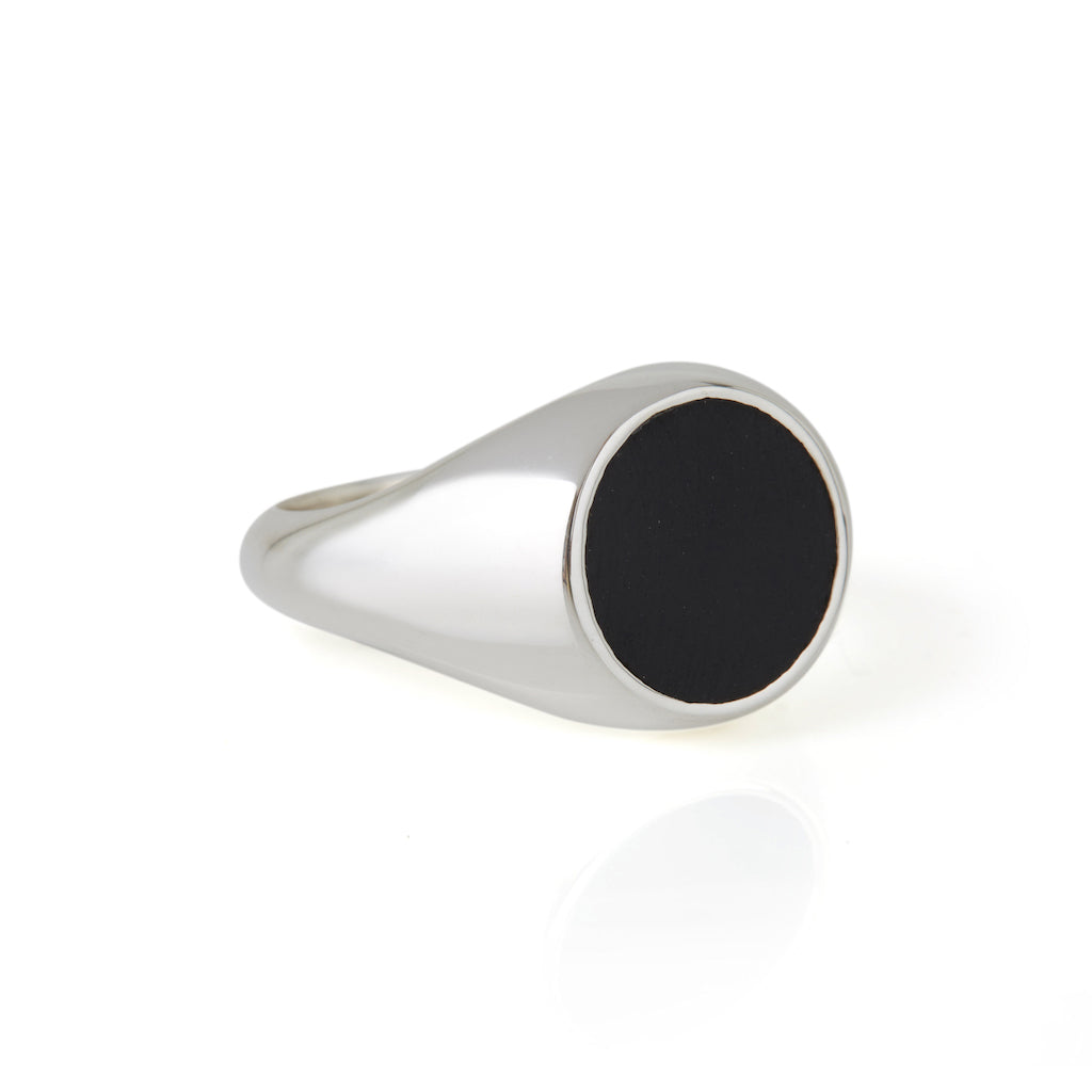Reflection Ring Silver / Black Onyx