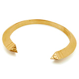 Tetra Open Bangle Gold
