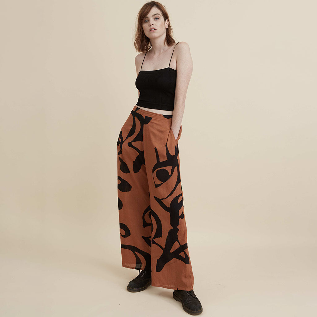 The Dreamer Trousers - Burnt Orange