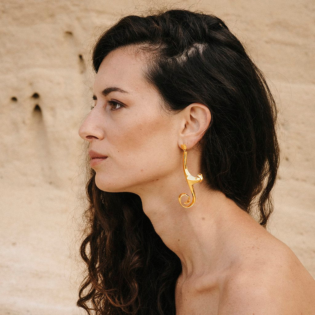 Artemis Earrings Gold