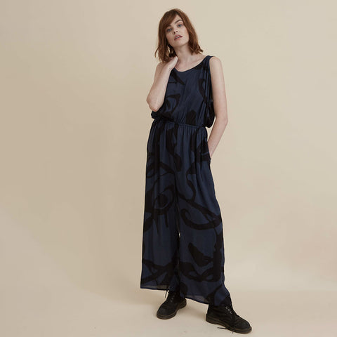 The Dreamer Jumpsuit - Navy