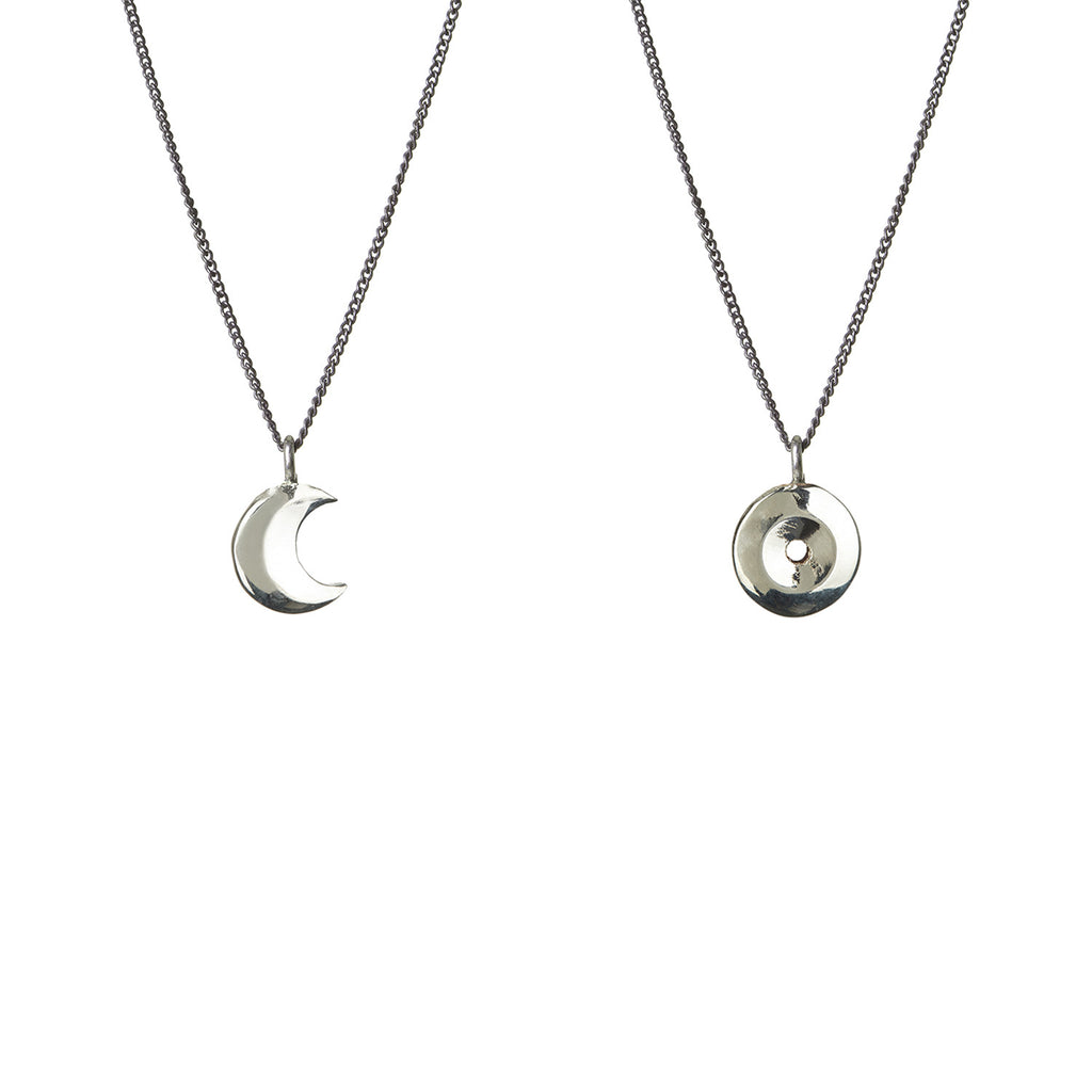 Seven Planetary Metals - The Sun and the Moon Pendant