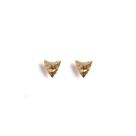 Modern Primitive Mini Studs Gold