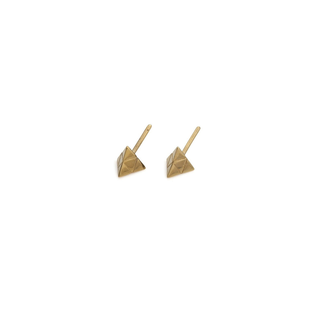 Tetra Studs Gold and Silver