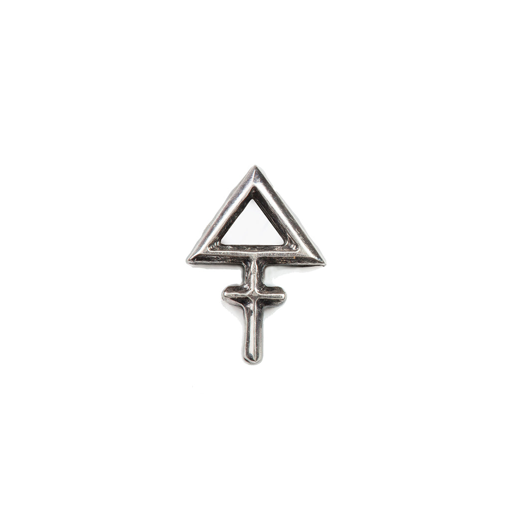 Tria Prima Stud Earrings Silver