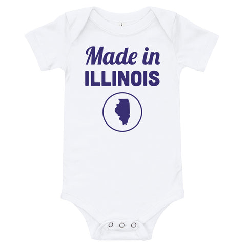 Made in Illinois Onesie