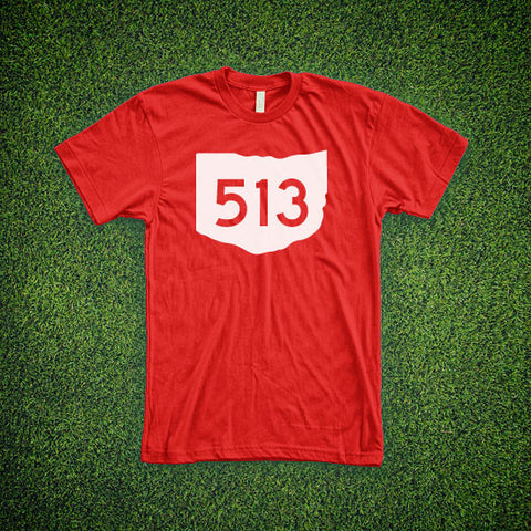 Ohio Area Code T-Shirt - Cincinnati