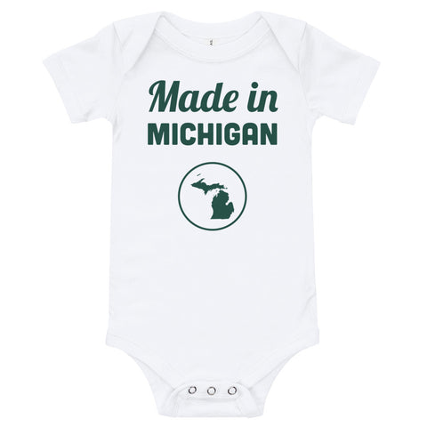 Made in Michigan Onesie