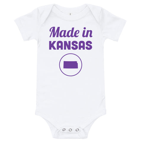 Made in Kansas Onesie