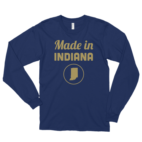 Made in Indiana Long Sleeve T-Shirt