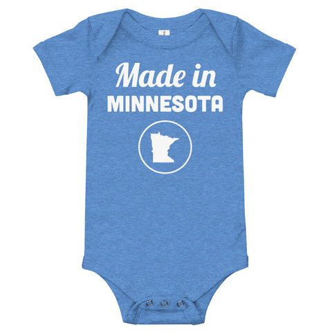 Made in Minnesota Onesie