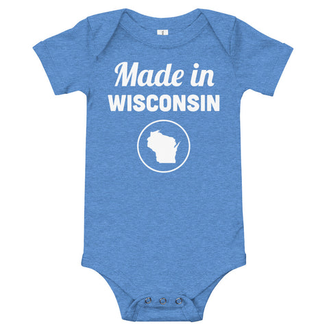 Made in Wisconsin Onesie