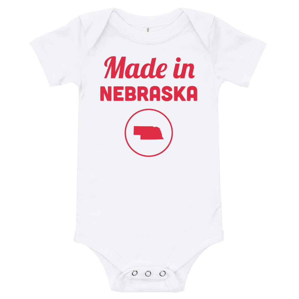 Made in Nebraska Onesie