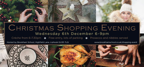 Christmas Shopping Evening at Brookham School, Liphook