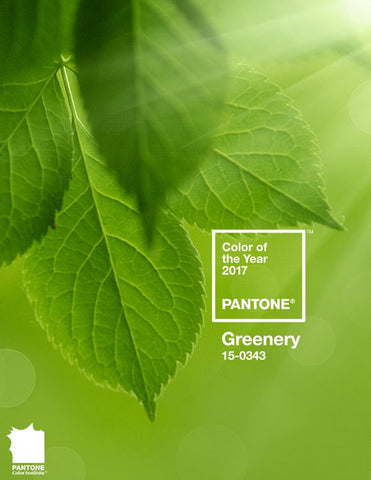 Pantone Colour of the Year is Greenery