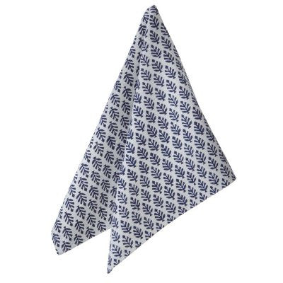 Bungalow Napkin in Neem Blue at Andrassy Living