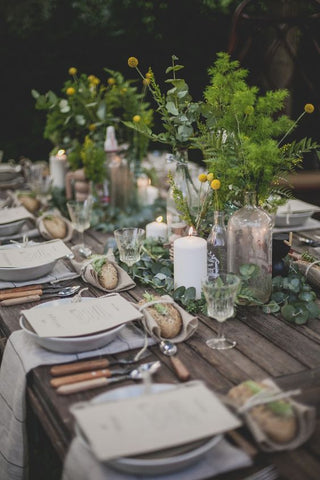 Tablescape from Happy Interior Blog