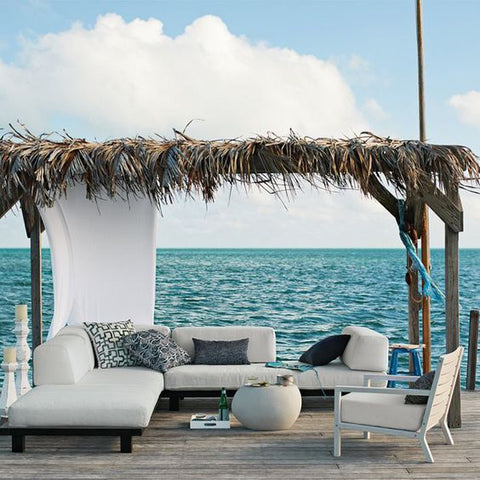 Outdoor Pergola by the sea