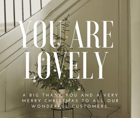 Thank you and Merry Christmas to all Andrassy Living Customers
