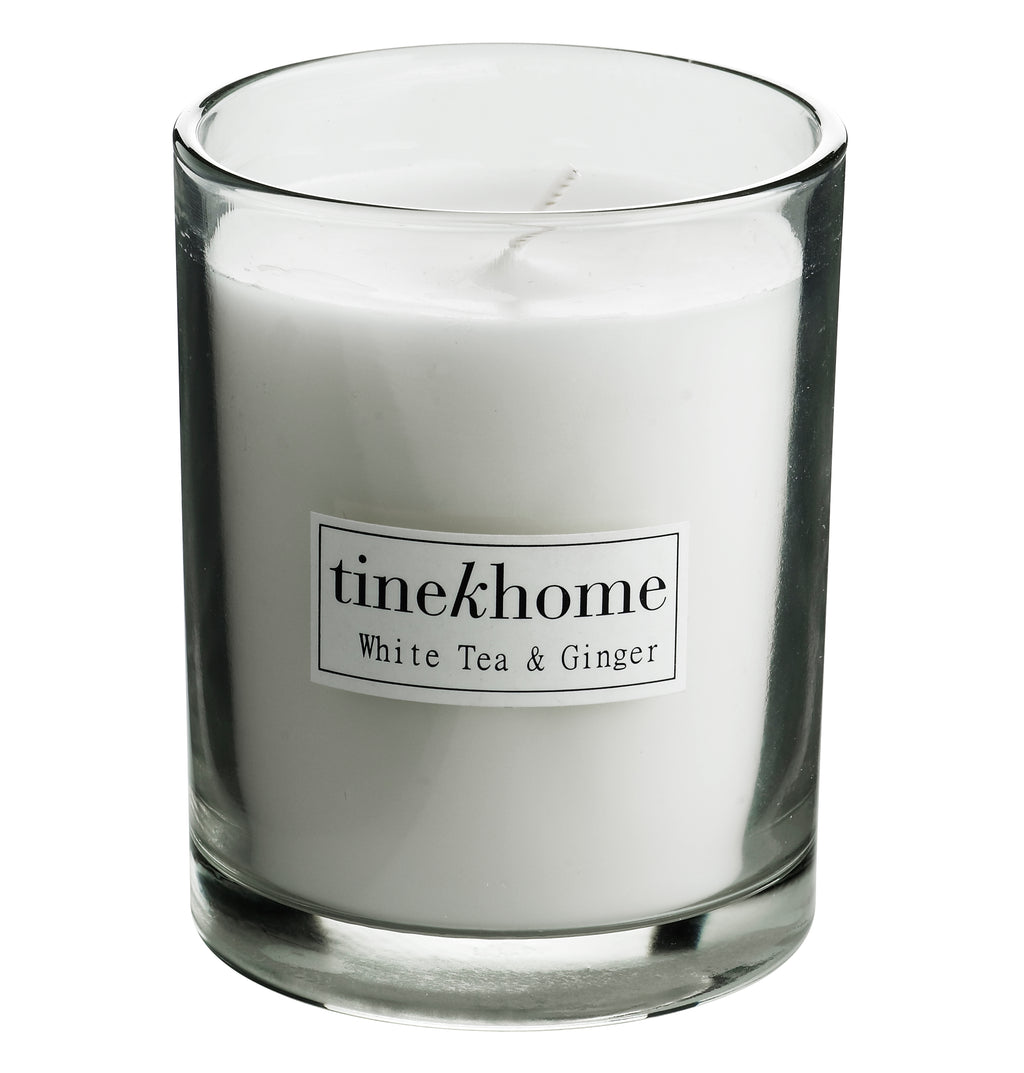 TineK White Tea & Ginger Scented Candle