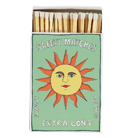 Sun Glitter Matches by Archivist Gallery
