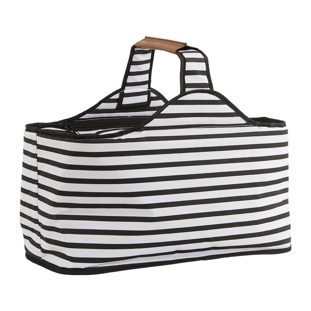 Black and White Striped Cool Bag from House Doctor