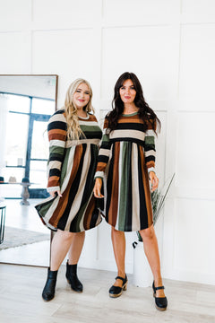 Everything You Need Striped Dress
