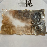 Rectangle Silicone Geode Tray Mold - SMALL