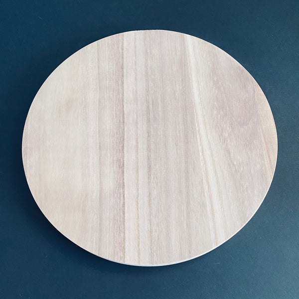 "Solid Wood Round - 12"" THICK"
