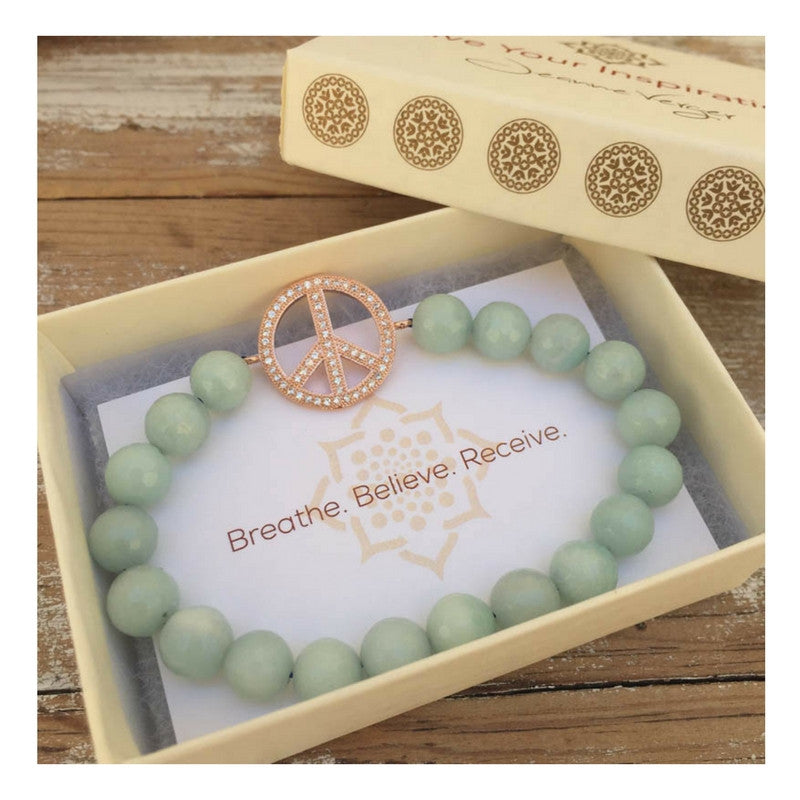 Positive Energy - Amazonite Bracelet