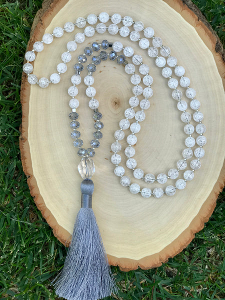 ** ONLY 1 LEFT ** Clarity & Intention 108 Mala