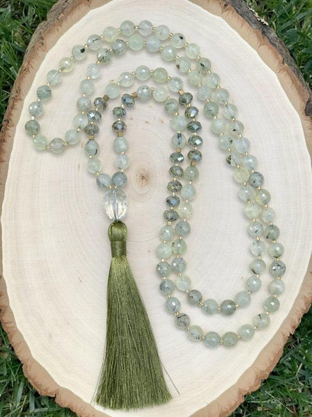 ** ONLY 2 LEFT ** Thriving in Love & Joy 108 mala