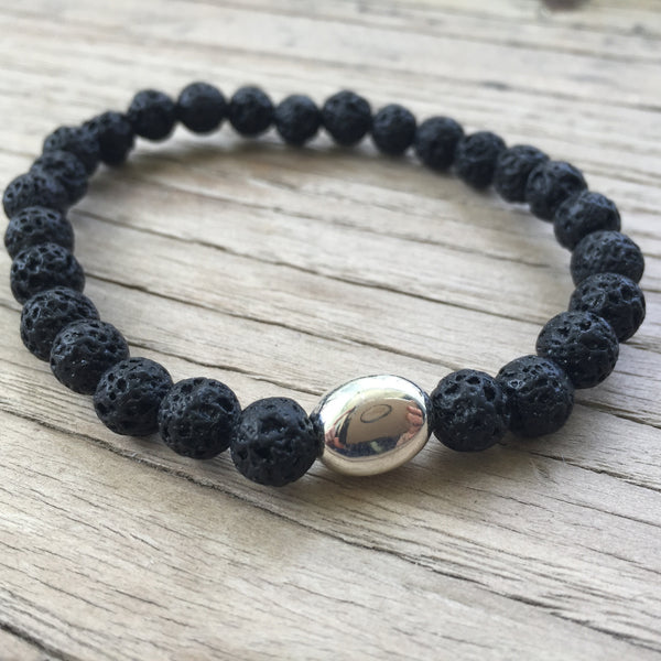 Transformation Men's Bracelet - LAVA ROCK