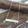 I Choose Love Sterling Silver Necklace