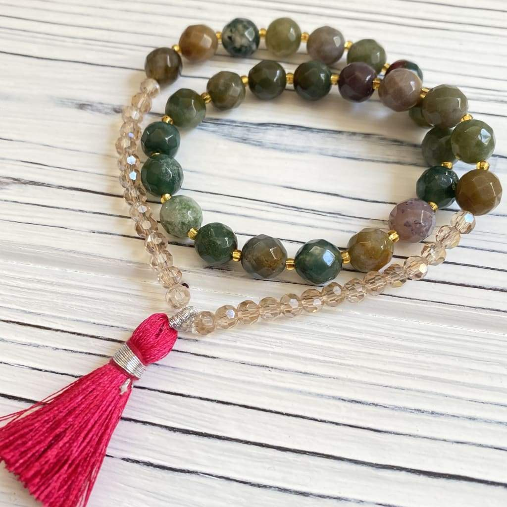 Thinking & Balance – Fancy Jasper Mala - Bracelets