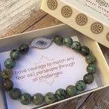 Renew Your Life Force - African Turquoise Bracelet