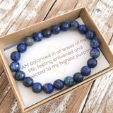 Self-Awareness Bracelet - Sodalite - Bracelets