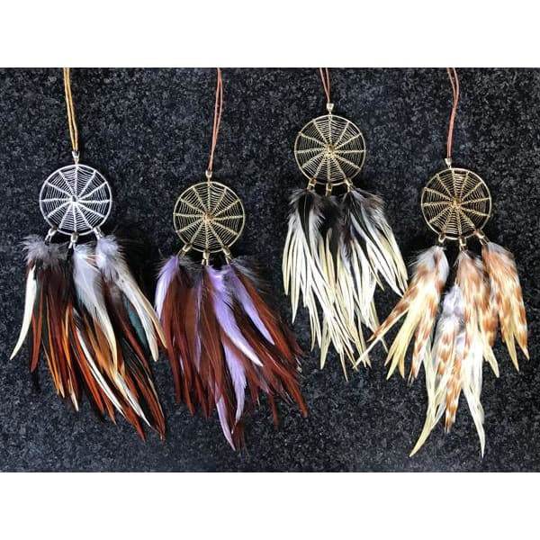 Magical Dreams 03 - Feather Dream Catcher Necklace