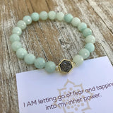 Pure Energy - Amazonite Druzy Bracelet