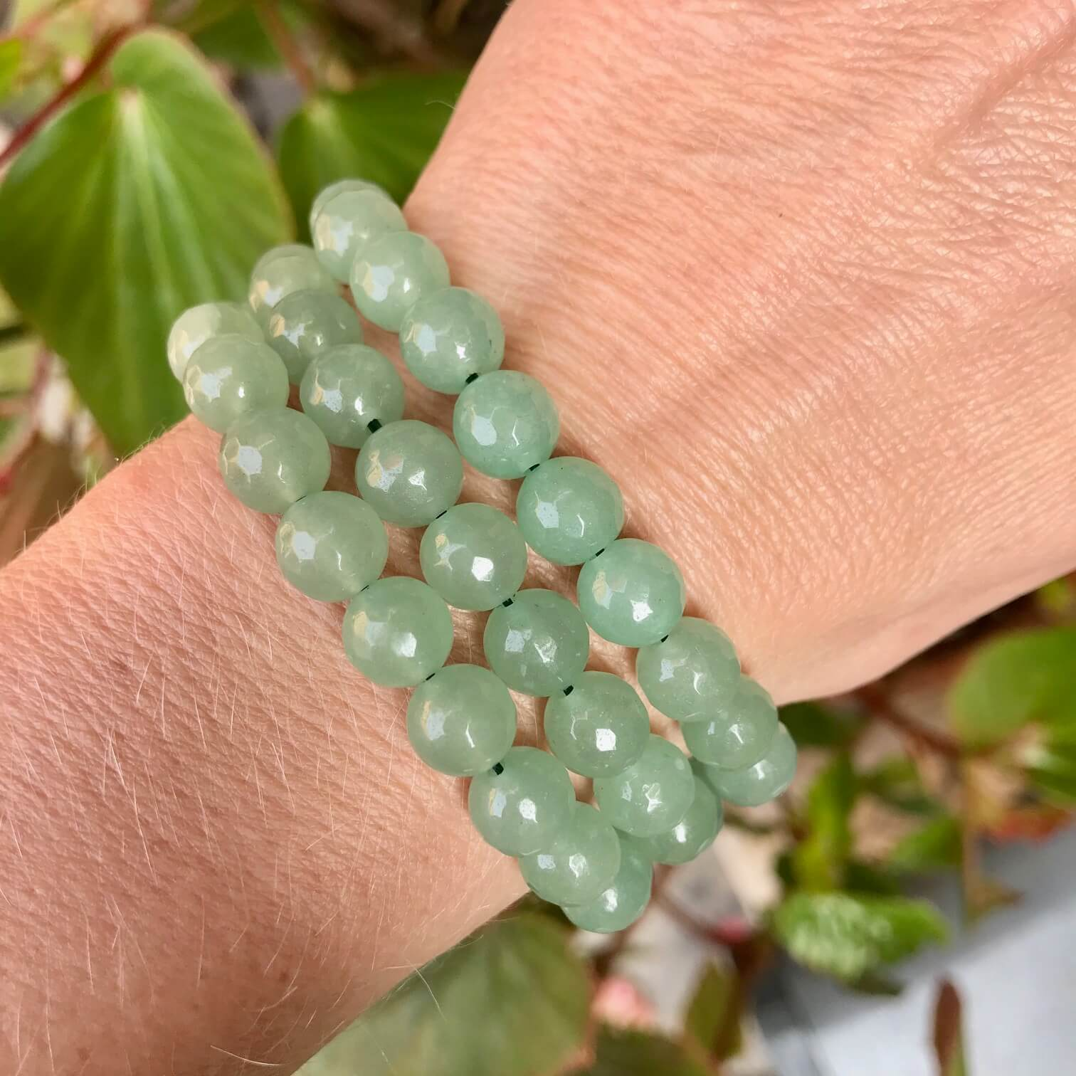 Wealth Attraction Bracelet - Green Aventurine - Bracelets