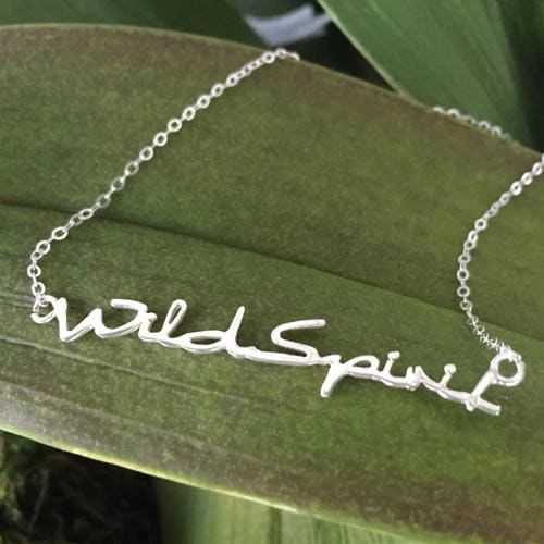 Wild Spirit Sterling Silver Necklace - Necklace